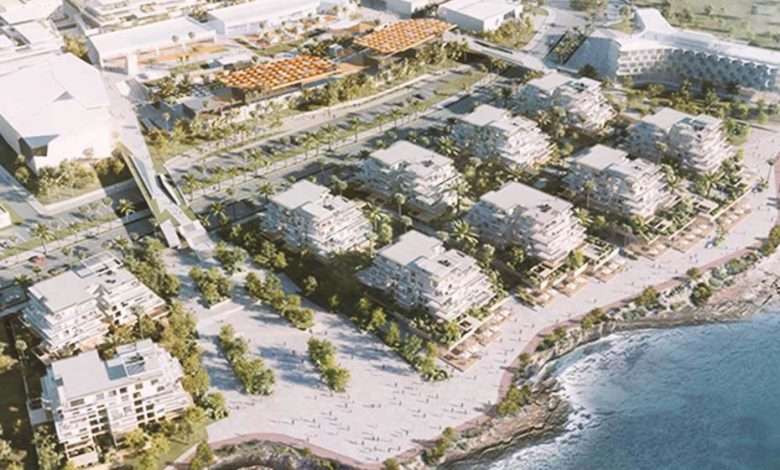 Le Carrousel, a mixed-use project on the Rabat coastline in Morocco.