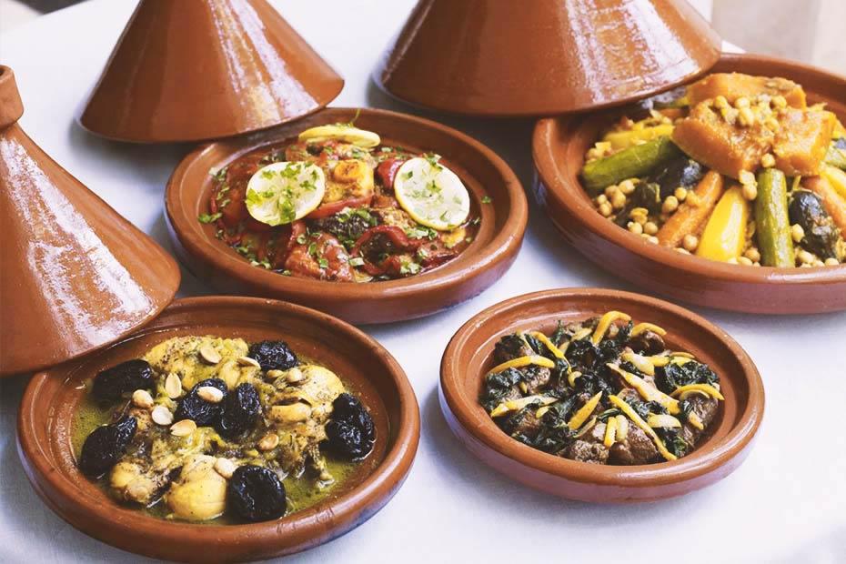 delicious tasty moroccan tajines