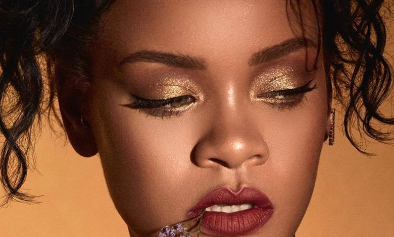 "Rihanna's photoshoot for her new Fenty palette: ""Moroccan Spice"", inspired by Morocco"
