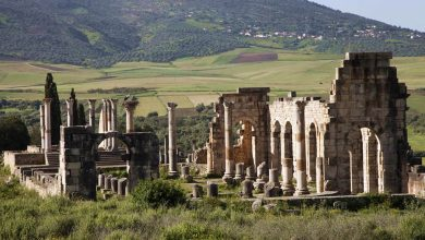 Photo of Volubilis: an ancient Roman city in Morocco