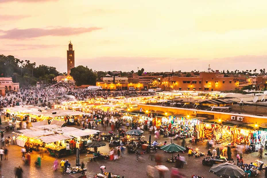 Marrakech - Marrakesh: most Beautiful Moroccan Cities