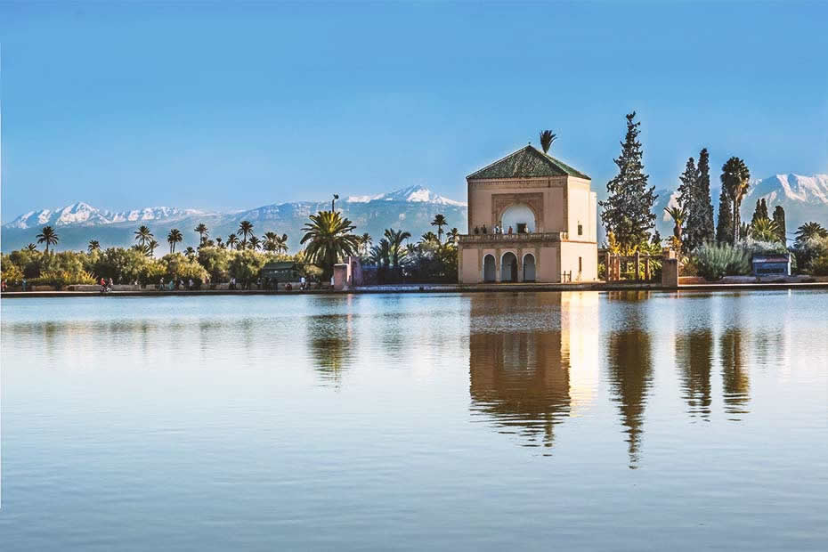 Menara must-see places in Marrakech