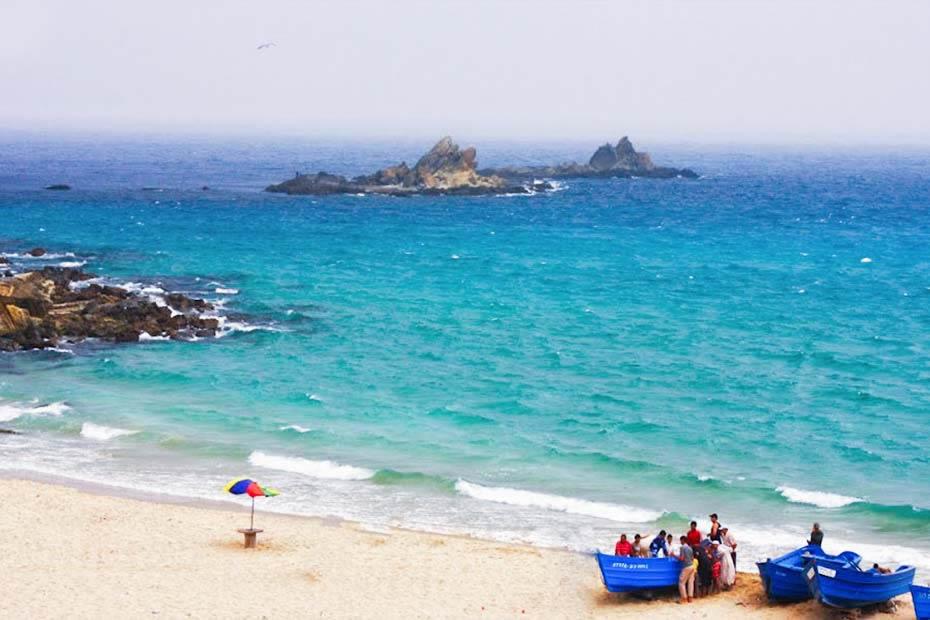 Dalia Beach in Tangier