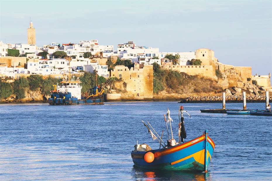 beautiful city of rabat, one of the most visited cities in morocco