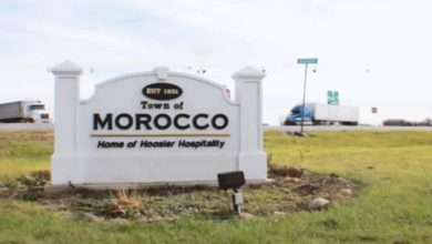 Photo of A town in the United States named Morocco?