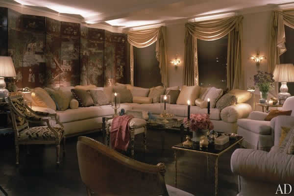 Room in Mariah Carey's New York apartment