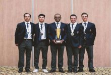 Photo of Who is the Arab team golf champion?