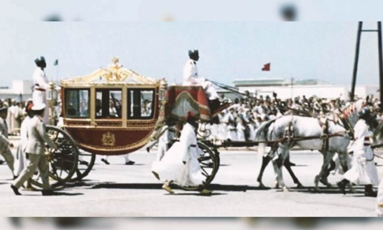 The carriage given to the sultan of Morocco by the Queen Victoria