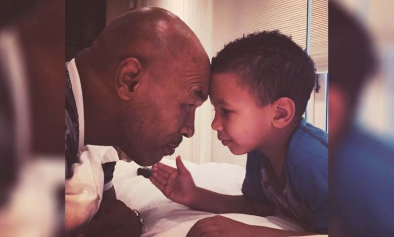 Photo of Wait… Mike Tyson has a son named Morocco!?