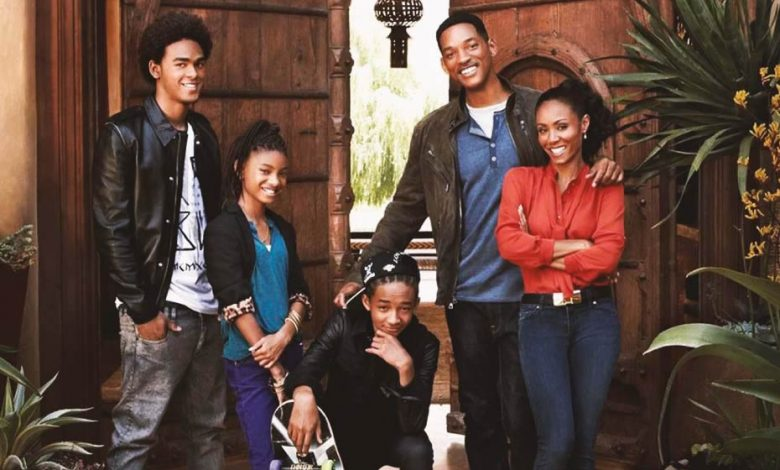 Will Smith's family in Moroccan architecture home