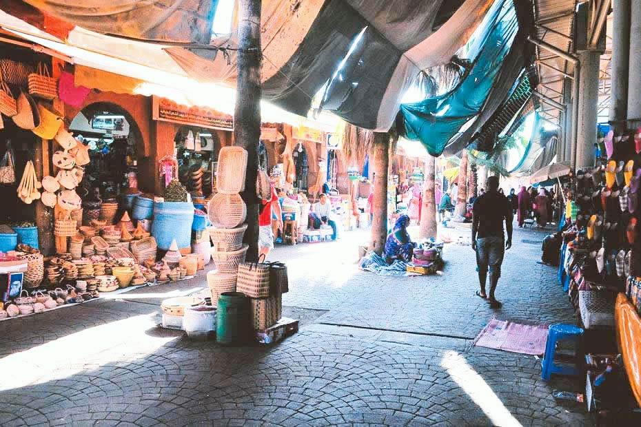Visit Souk El Had in Agadir