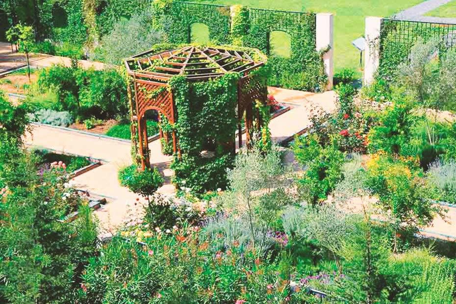 """The """"Jardin d'Essais Botaniques"""" in Rabat, Morocco."""