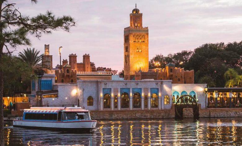 The Moroccan pavilion at Walt Disney World Resort, Florida.