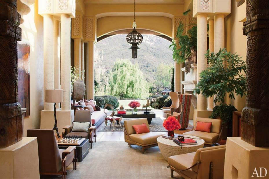 Will Smith's Moroccan style home
