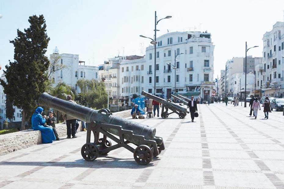 La place de la France most visited place in Tangier, Morocco.
