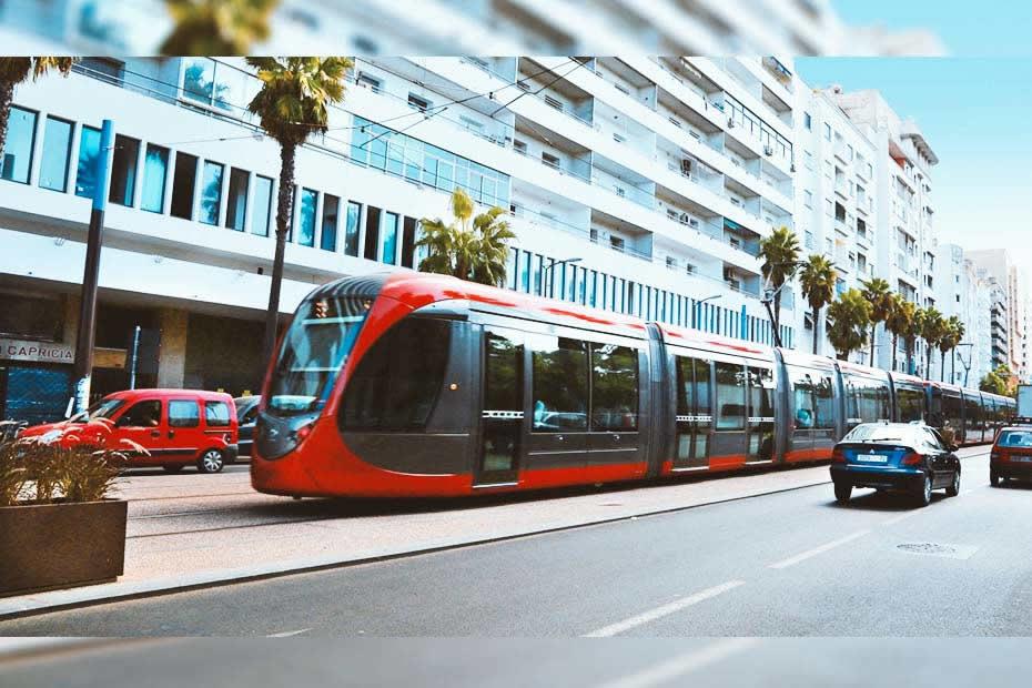 Information about Casablanca: the modern tramway of Casablanca