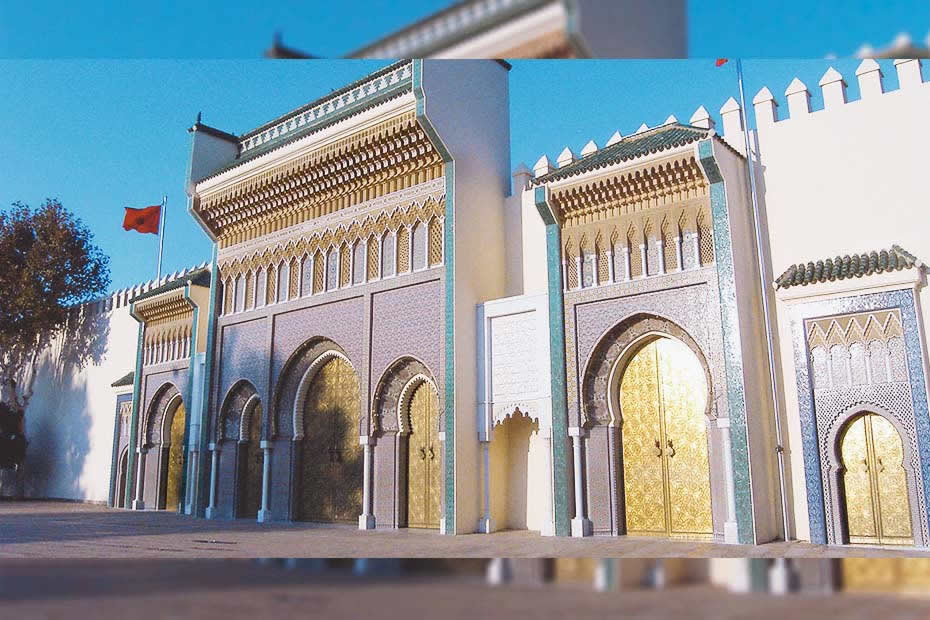 Dar el Makhzen museum place to go to in Tangier, Morocco.