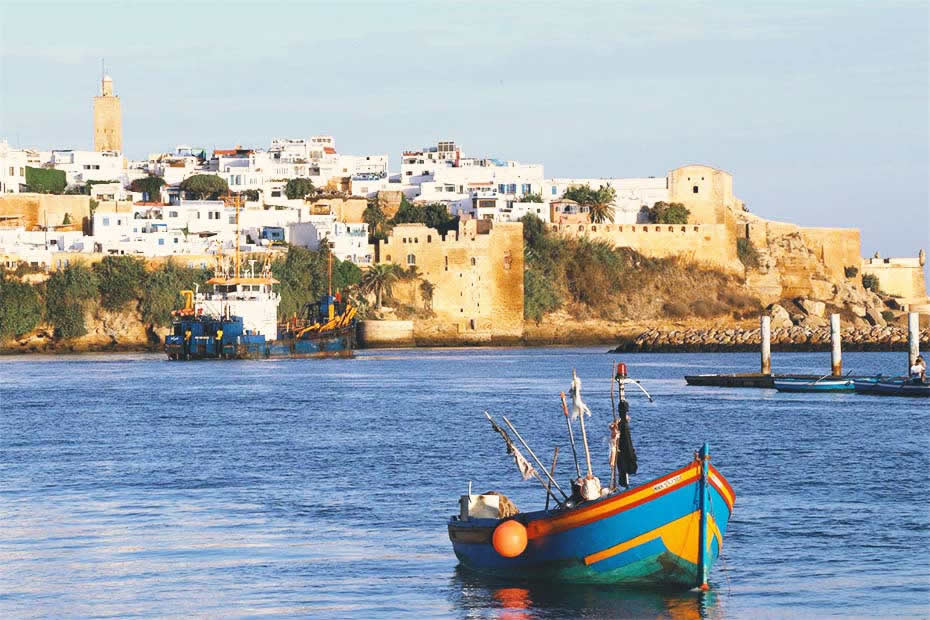 Where is Morocco and its capital rabat