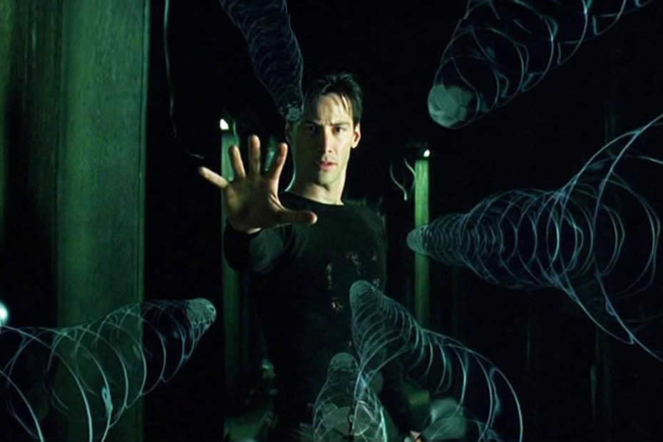Keanu Reeves, Neo in The Matrix