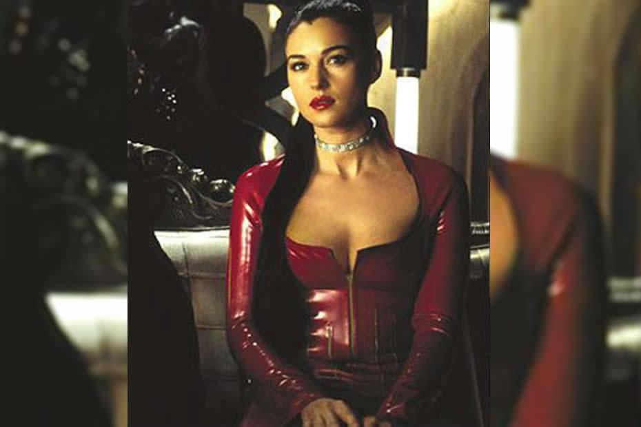Monica Belluci in The Matrix as Persephone