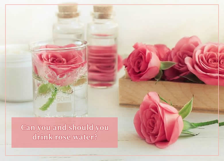 one rose in a glass of water surrounded by other roses