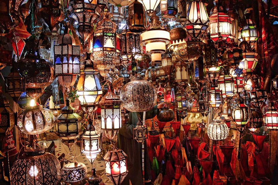 beautiful set of Moroccan lamps
