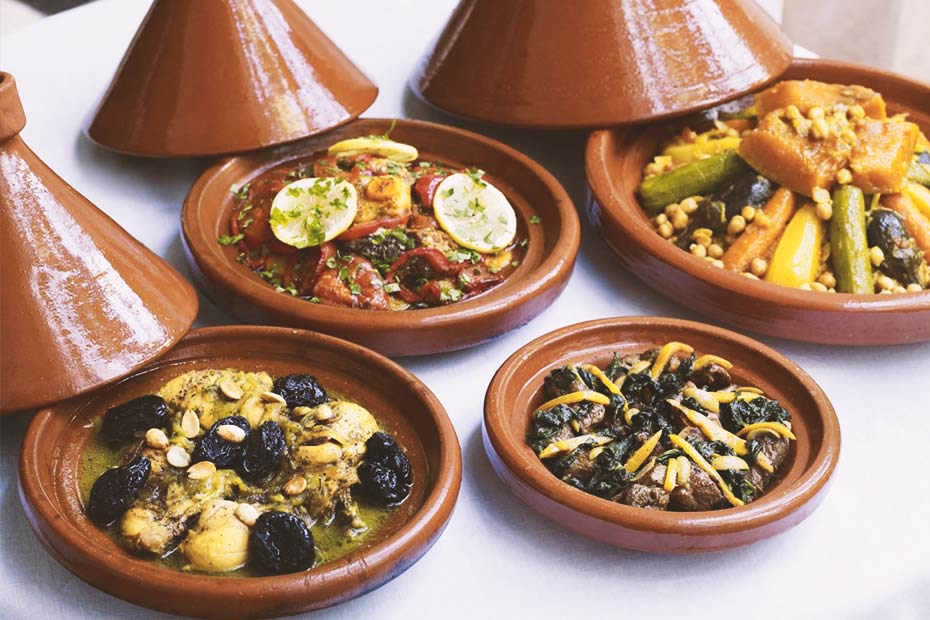 different types of Moroccan tajines morocco is known for