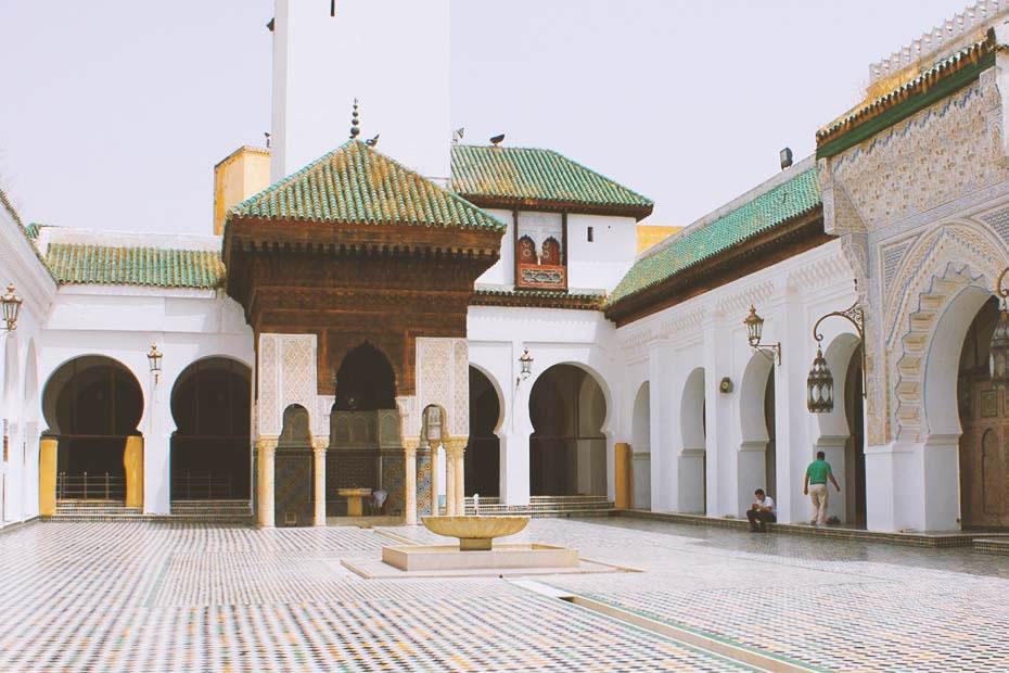 The world's first university- University of Al-Qarawiyyin