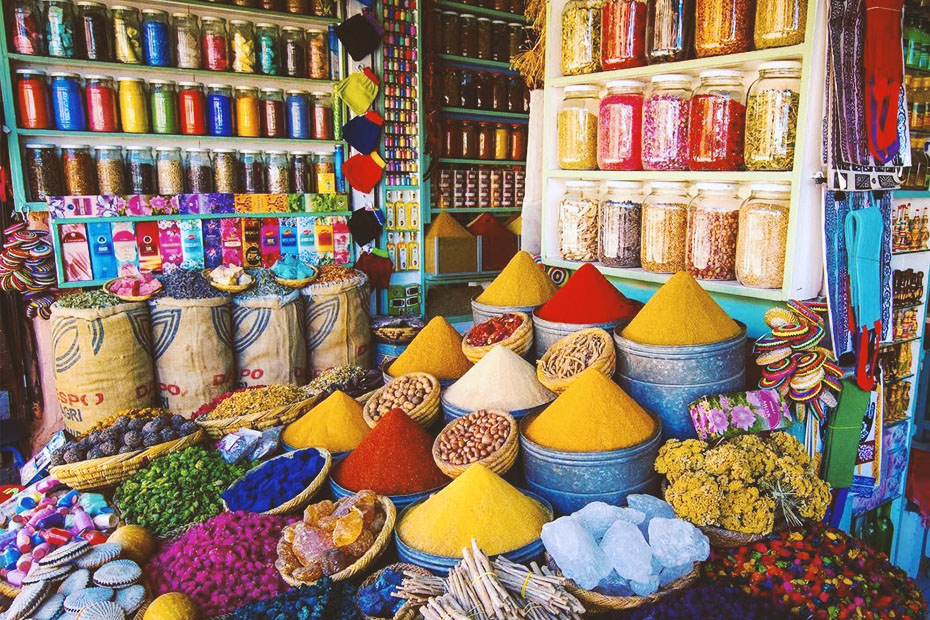dunes of spices in morocco