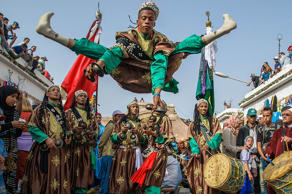 gnawa dans and music- what is morocco known for