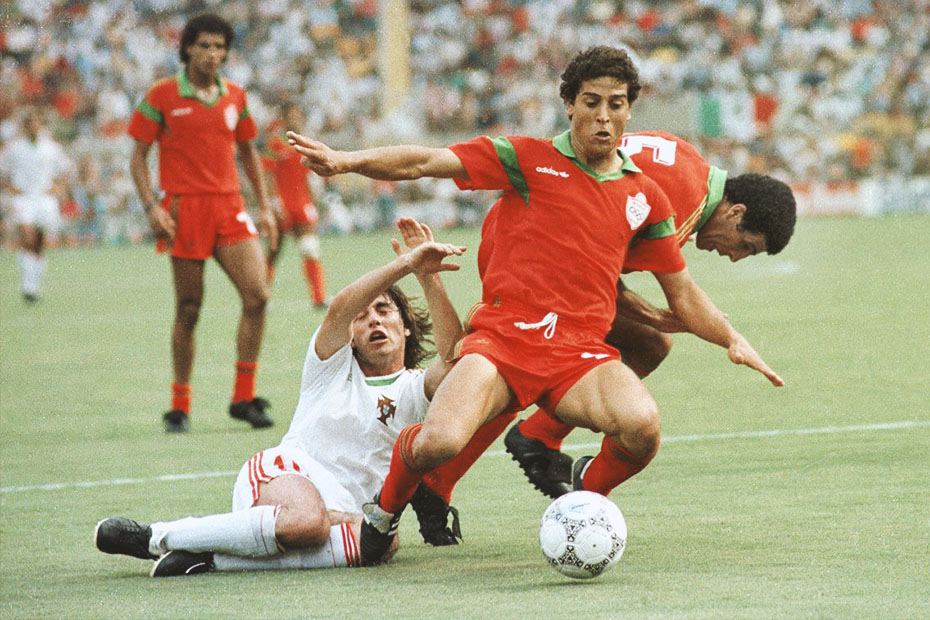 moroccan soccer players that made history